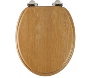 Roper Rhodes Limed Oak Wooden Traditional soft-closing Toilet Seat (8081LISC)
