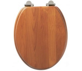 Roper Rhodes Antique Pine Wooden Traditional soft-closing Toilet Seat (8081ASC)