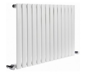 Reina Neva Single Panel Designer Radiator 550mm x 1180mm White