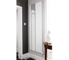 Eastgate Sheer Reflection White Mirror Flat Panel Radiator 1800mm x 595mm