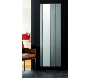 Eucotherm Mars Mirror Anthracite Flat Panel Radiator 1800mm x 595mm