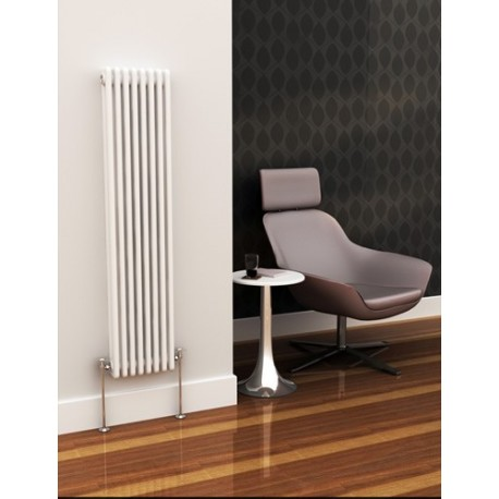 Eastgate Lazarus Vertical Two Column Radiator 1192mm High x 490mm Wide