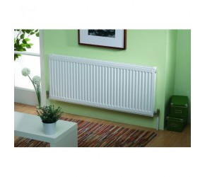 Kartell Kompact Double Panel Double Convector Radiator 400mm x 1400mm