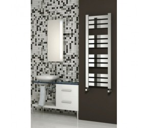 Reina Riva Designer Heated Towel Rail 960mm High x 500mm Wide