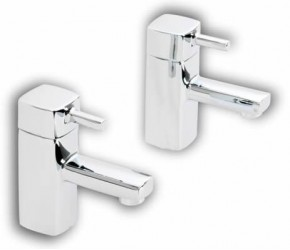 Gremio Chrome Basin Taps