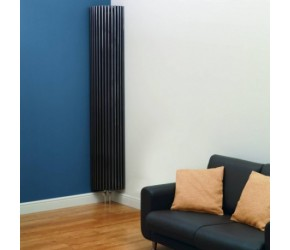 Kartell Kansas Corner Radiator Anthracite 2000mm x 276mm