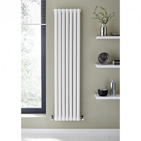 Kartell Aspen White Vertical Single Panel Designer Radiator 1800mm x 420mm