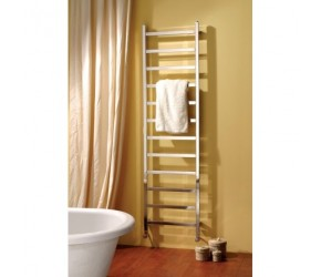 Kartell Connecticut Polished Stainless Steel Square Towel Rail 900mm x 500mm