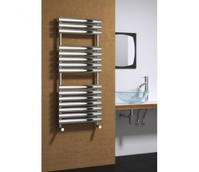 Reina Helin 826mm x 500mm Stainless Steel Towel Rail
