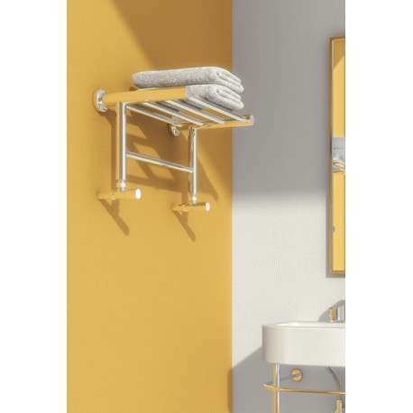 Reina Troisi 294mm x 532mm Stainless Steel Towel Rail