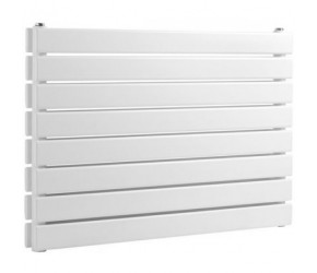 Reina Rione Double Panel Designer Radiator 550mm x 1000mm White