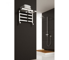 Reina Elvina 350mm x 500mm Chrome Heated Towel Rail