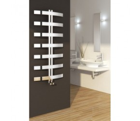 Reina Riesi 1200mm x 600mm Stainless Steel Heated Towel Rail