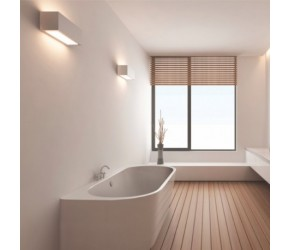 BC Designs Ancora Back To Wall Freestanding Bath 1640mm Long x 760mm Wide