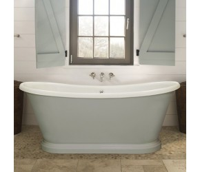 BC Designs Double Skinned Acrylic Boat Bath 1580mm x 750mm