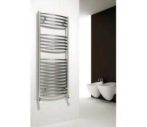 Reina Diva Straight Chrome Heated Towel Rail 1200mm x 300mm