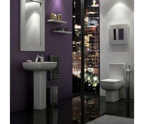 Kartell Options 600 4 Piece Bathroom Suite