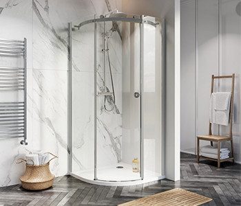 Iona A8 8mm Glass Quadrant Shower Enclosures