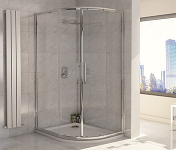 Iona A8 8mm Glass Offset Quadrant Shower Enclosures
