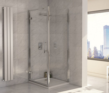 Iona A8 8mm Glass Hinge Shower Doors