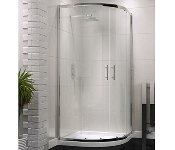 Iona A6 6mm Glass Quadrant Shower Enclosures