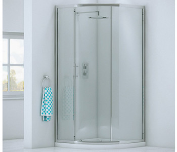 Iona A6 6mm Glass Offset Quadrant Shower Enclosures