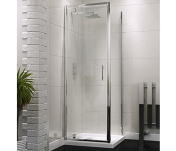 Iona A6 6mm Glass Pivot Shower Doors