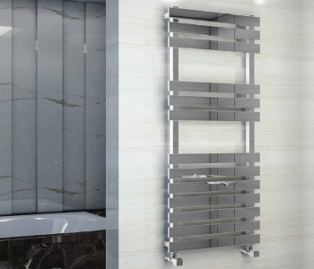 Eastbrook Biava Flat Polished Stainless Steel Towel Rails