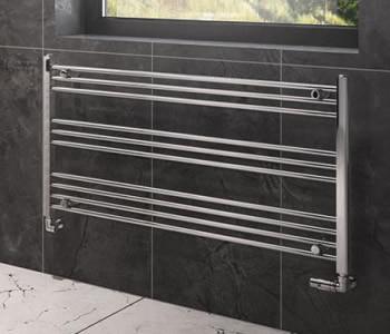 Horizontal Heated Towel Rails