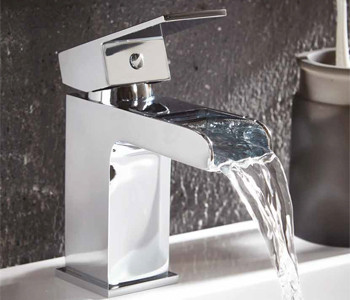 Iona Neto Bathroom Waterfall Tap Collection