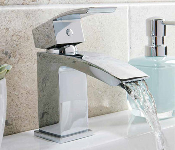 Iona Distro Chrome Bathroom Tap Collection