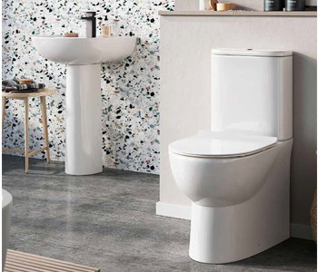 Iona Riva Rimless Bathroom Suites