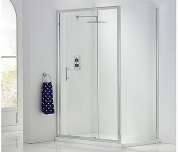 Iona A6 6mm Glass Shower Side Panels