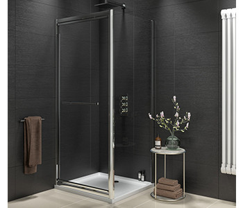 Iona A8 8mm Glass Infold Shower Doors