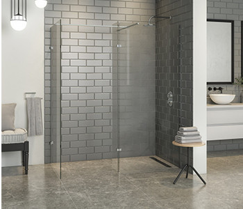 Iona A10 10mm Glass Wet Room Shower Panels