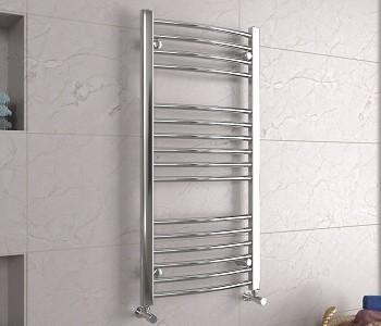 Chrome Curved Towel Rails