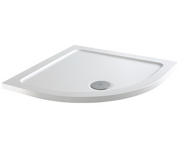Iona 40mm Low Profile Stone Resin Quadrant Shower Trays