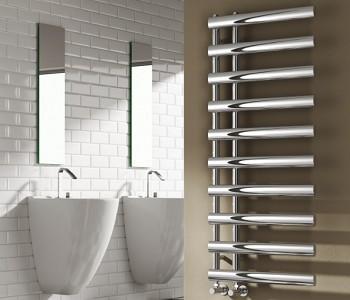 Chrome Designer Towel Rails