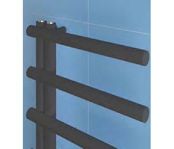 Eastbrook Marlow E Style Matt Anthracite Towel Rails