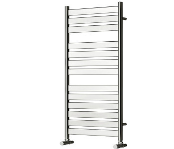 Reina Carpi Chrome Flat Panel Towel Rails
