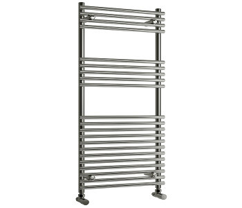 Reina Pavia Chrome Tube on Tube Towel Rails