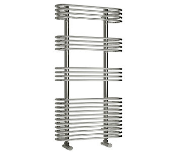 Reina Mirus Designer Chrome Towel Rails