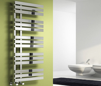 Reina Sesia Chrome Designer Towel Rails
