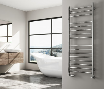 Reina Luna Straight Stainless Steel Towel Rails