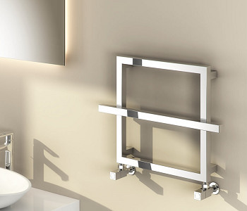Reina Lago Designer Chrome Heated Towel Rails