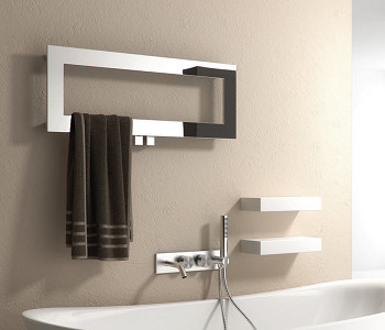 Reina Bivano Stainless Steel Towel Rail