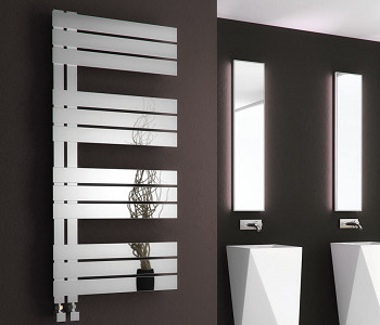Reina Ricadi Polished Stainless Steel Towel Rails