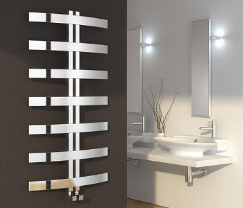 Reina Riesi Polished Stainless Steel Towel Rails