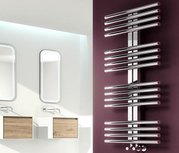 Reina Sorento Polished Stainless Steel Towel Rails