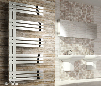 Reina Lovere Polished Stainless Steel Towel Rails
